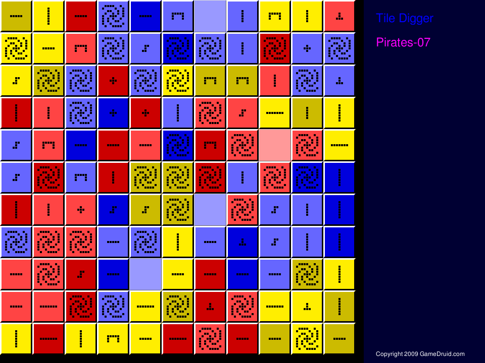 Tile matching game with a different twist.